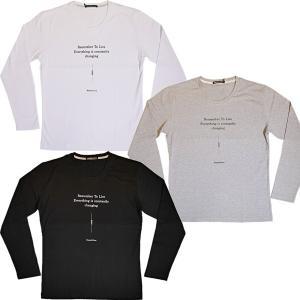 ハイダウェイ ニコル HIDEAWAYS NICOLE グラフィックロゴプリント長袖Tシャツ 2019秋冬新作 9465-9130 通常販売価格:4290円 fashionspace-yokoya