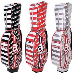 アルチビオ archivio レディース メンズ ブランドロゴ柄キャディバッグ8.5型 ゴルフウェア 通常販売価格:58300円|fashionspace-yokoya
