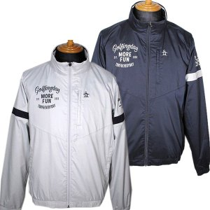 マンシングウェア Munsingwear メンズ ハイネックストレッチウインドブレーカー 3L有 ゴルフウェア 通常販売価格:20900円|fashionspace-yokoya
