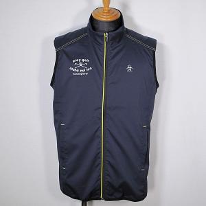 マンシングウェア Munsingwear メンズ ハイネックストレッチアウターベスト ゴルフウェア 通常販売価格:15400円|fashionspace-yokoya