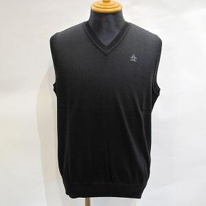 カラー:ブラック 本体素材:毛100%  マンシングウェア Munsingwear ゴルフウェア ゴ...