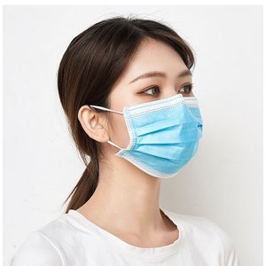 マスク 10枚入り 不織布3層構造フィルター  ホコリ 花粉対策対策 風邪予防 大人用