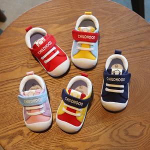 キャンバス靴 ズック靴 子供靴 ベビー スニーカー 布 配色  女の子 男の子 柔らか キッズシューズ ユニセックス 歩く 着心地良い 春秋|fashionya