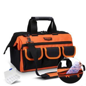ツールボックス 工具箱 バッグタイプ トート 収納バッグ マルチポケット 布製 汎用性 持ち運びやすい 小物収納 多用途ポケット fashionya