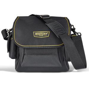 ツールバッグ ショルダーバッグ 工具入れ 持ち運びやすい ショルダータイプ 工具箱 大容量 マルチポケット シンプル 小物収納 携帯性 作業 fashionya