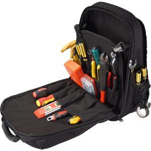 ツールバッグ 工具リュック リュックサック バックパック 底部補強 作業カバン 作業用バッグ 大容量 持ち運びやすい 工具収納 耐摩耗 工具整理 fashionya