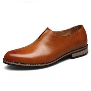 スリッポン メンズ ビジネスシューズ ローファー ローカット 靴 ストレートチップ ウォーキング シューズ 革靴 カジュアルシューズ 防滑|fashionya