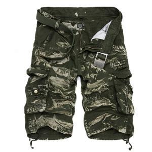 カーゴパンツ メンズ ショートパンツ 短パン ミリタリーショートパンツ ハーフパンツ ワークパンツ ショーツ 無地/迷彩 大きいサイズあり カジュア fashionya 07