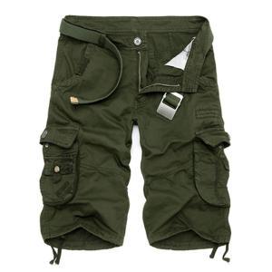 カーゴパンツ メンズ ショートパンツ 短パン ミリタリーショートパンツ ハーフパンツ ワークパンツ ショーツ 無地/迷彩 大きいサイズあり カジュア fashionya 09
