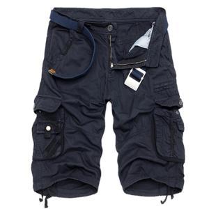 カーゴパンツ メンズ ショートパンツ 短パン ミリタリーショートパンツ ハーフパンツ ワークパンツ ショーツ 無地/迷彩 大きいサイズあり カジュア fashionya 10