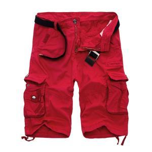 カーゴパンツ メンズ ショートパンツ 短パン ミリタリーショートパンツ ハーフパンツ ワークパンツ ショーツ 無地/迷彩 大きいサイズあり カジュア fashionya 04