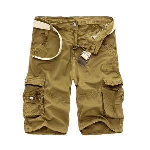 カーゴパンツ メンズ ショートパンツ 短パン ミリタリーショートパンツ ハーフパンツ ワークパンツ ショーツ 無地/迷彩 大きいサイズあり カジュア fashionya 05