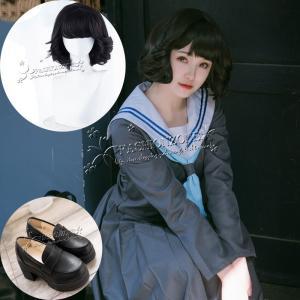 今日から俺は 風 赤坂理子 はやかわきょうこ コスプレ衣装 ウィッグ靴 パーティーイベント 制服 コ...