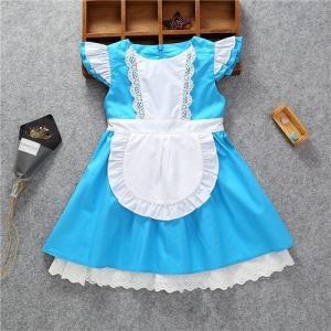 142eed08a7eee AD109 ディズニープリンセス 子供用ドレス キッズ アリス ワンピース なりきりワンピース プリンセスドレス 子どもドレス プリンセス キッズドレス  女の子