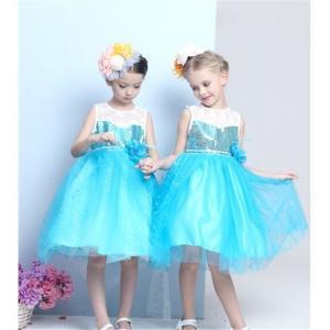 a0c0946438007 W127 ディズニープリンセス キッズ エルサ ワンピース なりきりワンピース プリンセスドレス 子どもドレス プリンセス キッズドレス 女の子