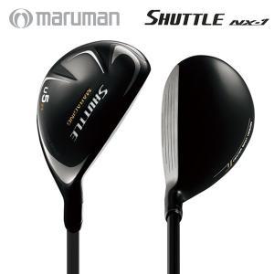「送料無料」 マルマン ゴルフ シャトル NX-1 ユーティリティー IMPACTFIT MV504 カーボンシャフト MARUMAN SHUTTLE|fastgolf