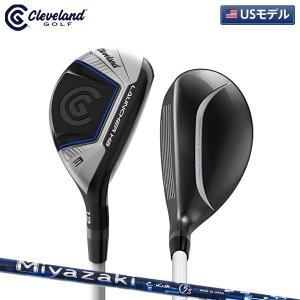 「USモデル」 クリーブランド ゴルフ ランチャー ハイボア HB ユーティリティー Miyazaki C.KUA カーボンシャフト LAUNCHER ミヤザキ|fastgolf