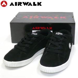 エアウォーク AIRWALK 新作 ONE ブラック オールドスクール スケートシューズ SK8 スケシュー|fatmoes