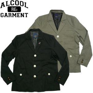 ALCOOL GARMENT Militla Tallored Jacket アルクール ガーメント ミリタリー テーラードジャケット  アウトドア スケーター fatmoes
