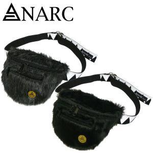 ANARC of HEX【アナーク オブ ヘックス】フェイクファー ウエストポーチ&ベルト バイカー ミリタリー ウエスバッグ ロック スケート fatmoes