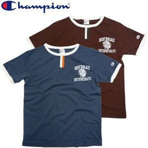 Champion チャンピオン トリムTシャツ リンガー Champion fatmoes