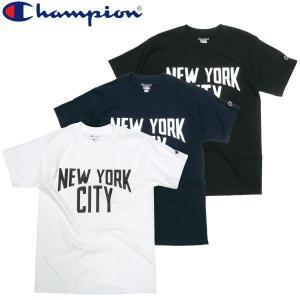 特別[10%OFF]SALE セール Champion チャンピオン NEW YORK CITY Tee NY ジョンレノン Beatles ビートルズ|fatmoes