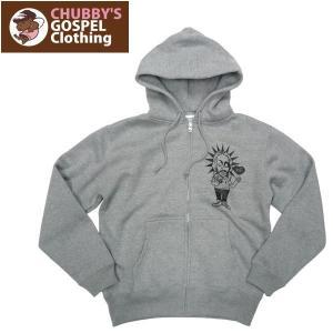 CHUBBY'S GOSPEL Clothing チャビーズ ゴスペル アパレル ブランド イエスさん パーカー|fatmoes