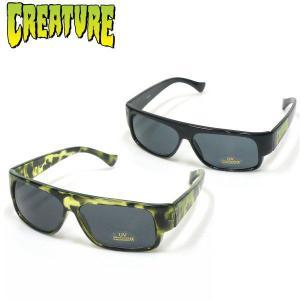 新作 CREATURE LOKOZ サングラス クリーチャー ミラーレンズ ハードコア スケーターファッション 眼鏡|fatmoes