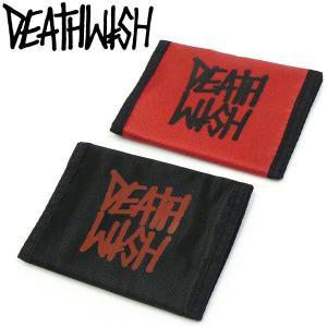 DEATHWISH(デスウィッシュ)ナイロンサイフ 札入れ財布 CARD CASE LOGO スケボーグッズ PUNK パンク ハードコア fatmoes