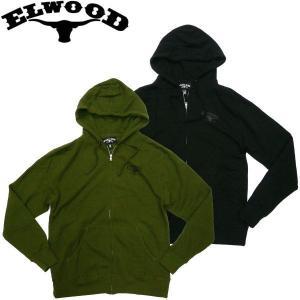 エルウッド ELWOOD TRADE GOODS ZIP ジップパーカー 新作 アメカジ スケーター スケボー|fatmoes