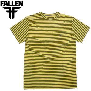 FALLEN MINI STRIPE CREW Tシャツ フォールン ボーダー スケートシューズ  スケーター ビンテージ ファーレン スケボー fatmoes