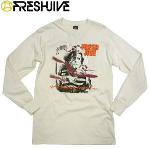 FRESHJIVE ロングスリーブTシャツ フレッシュジャイブ ロンティー ロサンゼルス L.A ストリート メンズ ファッション ストリート|fatmoes