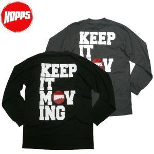 HOPPS KIM ロングスリーブTシャツ ホップス NewYork NY USA スケートボード スケボーショップ SK8  ビンテージ アメカジ ロンティー|fatmoes