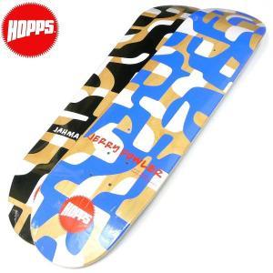HOPPS(ホップス)スケートボードデッキ スケボー板 JERRY FOWLER(ジェリー・ファウラー)JAHMAL WILLIAMS(ジャマール・ウィリアムス)シグネチャーモデル|fatmoes