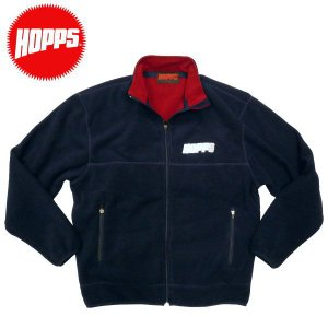 HOPPS(ホップス)フリースジャケット スケートボード ALL WEATHER FLEECE  NewYork NY USA スケボー|fatmoes