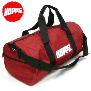 HOPPS(ホップス)ドラム ボストンバッグBIG HOPPS DUFFLE BAG ダッフルバック  ショルダーBAG NewYork NY USA スケボーBAG|fatmoes