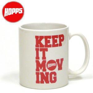 HOPPS COFFEE CUP ホップス NewYork NY USA コーヒーカップ マグカップ ニューヨーク スケートボード スケボーショップ SK8 ビンテージ アメカジ|fatmoes