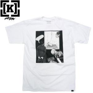 KR3W(クルー)WINSTON SMITH COLLABORATION コラボ フォトTシャツ ART アート US パンク fatmoes