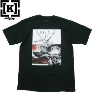 KR3W(クルー)WINSTON SMITH COLLABORATION コラボ KILL IT Tシャツ アート US パンク fatmoes