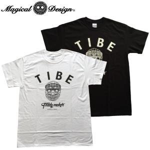 TEDDY MAKER MAGICAL DESIGN TIBE Tシャツ Tee マジカルデザイン TIKI SKULL スカル fatmoes