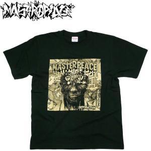 MASTER PEACE オフィシャル FREEDOM FIGHTER T Shirt  マスターピース バンドTシャツ グラフティー アート ハードコア バンティー PUNK BAND MERCHANDISE|fatmoes