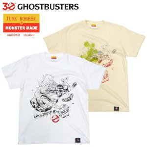 GHOSTBUSTERS 30th OFFICAL Slimer Tシャツ MONSTER MADE ゴーストバスターズ モンスター 妖怪|fatmoes