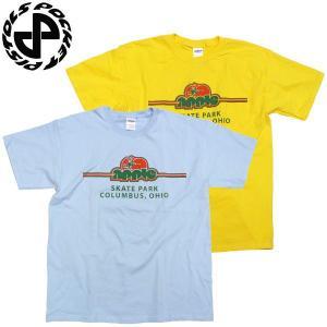 POCKET PISTOLS(ポケットピストルズ)Tシャツ スケートパークシリーズ APPLE SKATEPARK スケートボード|fatmoes