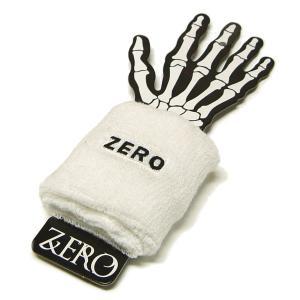 ZERO ゼロ リストバンド スケート ボード スケボーショップ SK8 デッキ SKATE ドクロ ROCK ロック パンク スカル アーミー アクセサリー|fatmoes