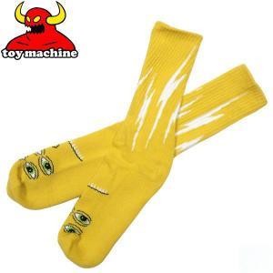 TOY MACHINE(トイマシーン)モンスターキャラクター ソックス 靴下 TRANS スケボー エド・テンプルトン スケート スケーターブランド|fatmoes