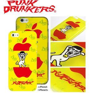 PUNK DRUNKERS (パンクドランカーズ) あいつ猫 iPhone ケース カバー TREST(トレスト)  iPhone5 /5S iPhone6|fatmoes