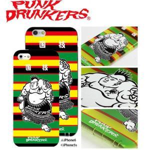PUNK DRUNKERS (パンクドランカーズ) 国技 iPhone ケース カバー TREST(トレスト)  iPhone5 /5S iPhone6 fatmoes