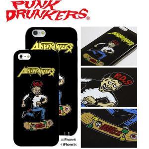 PUNK DRUNKERS (パンクドランカーズ) 般若スケボー iPhone ケース カバー TREST(トレスト)  iPhone5 /5S iPhone6|fatmoes