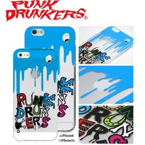 PUNK DRUNKERS(パンクドランカーズ) キモ悪ロゴ iPhone ケース カバー TREST(トレスト)  iPhone5 /5S iPhone6 fatmoes