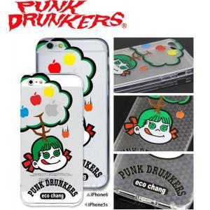 PUNK DRUNKERS(パンクドランカーズ) エコちゃん iPhone ケース カバー TREST(トレスト)  iPhone5 /5S iPhone6 fatmoes